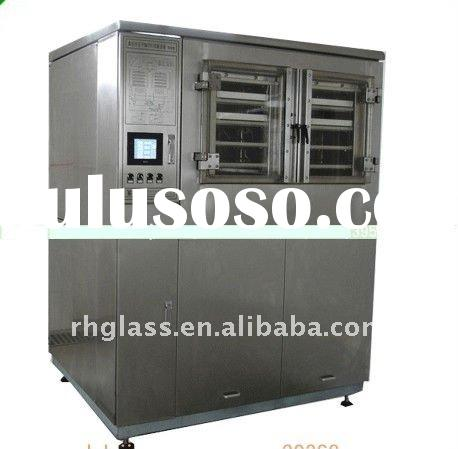 CIP touch screen vacuum freeze dryer