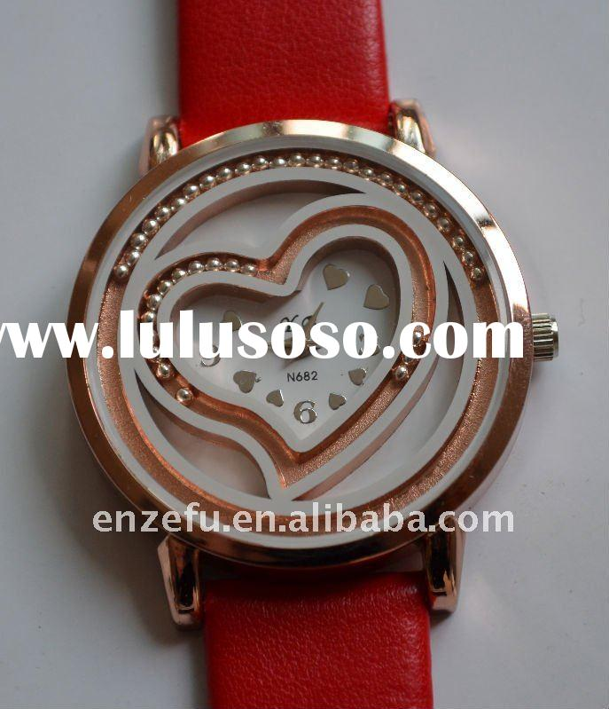 HOT selling Fashion leather woman children watch