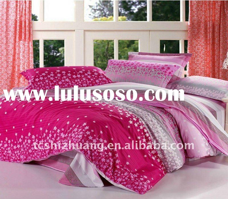 New arrival! 100% cotton king duvet cover set for home use