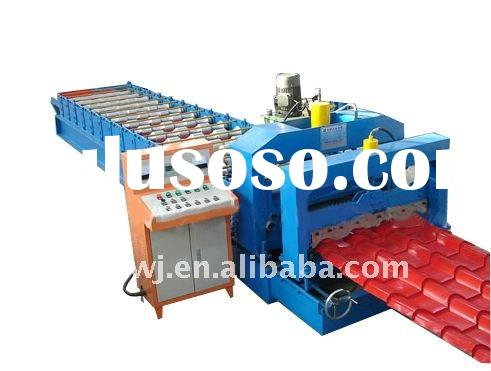TY40-256-768 glazed tile roof panel roll forming machine in China