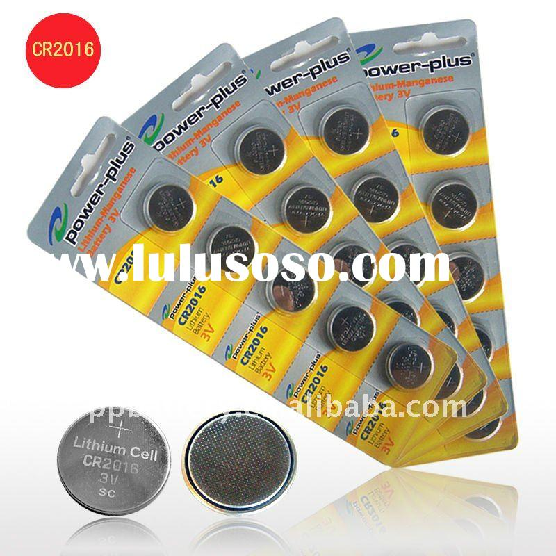 button cell battery CR2016
