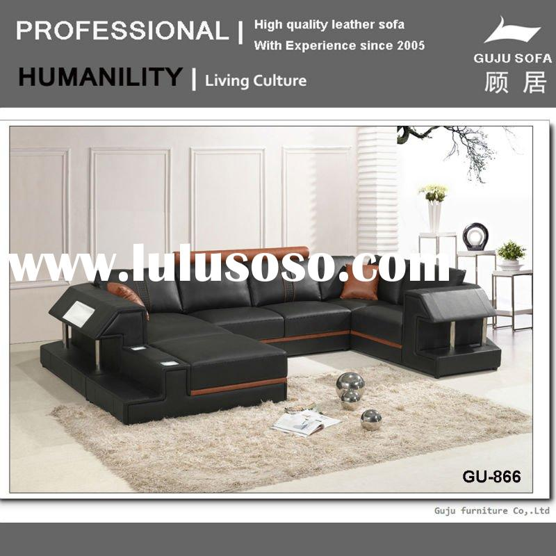 2011 leather sofa made in italy GU-866