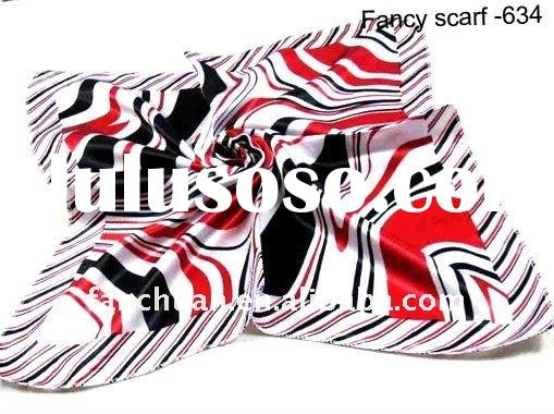 2012 newest style silk scarf(wholesale scarf)