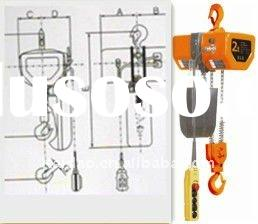 2T electric chain hoist with hook