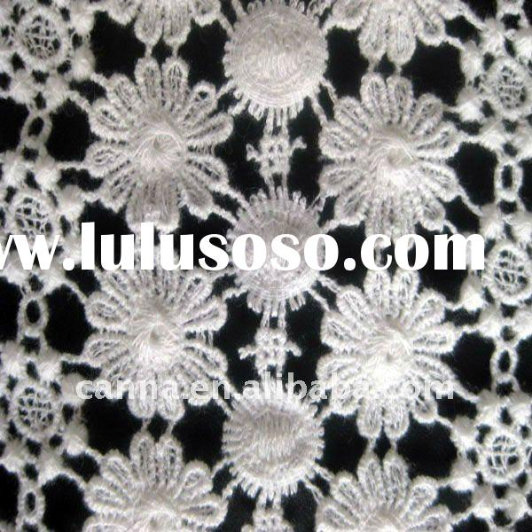 Cotton chemical lace fabric