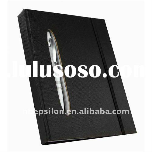 Promotional notebook with ballpen