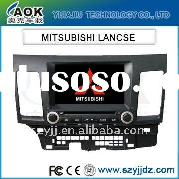 car audio for MITSUBISHI LANCSE built-in GPS and WinCE 6.0 system