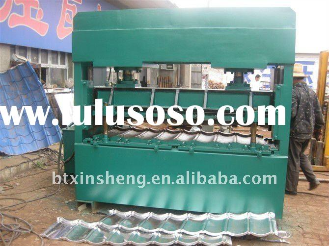 color steel tile roll forming machine