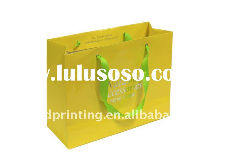 high quality paper shopping bag