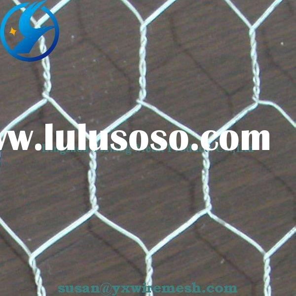 hot sale! galvanized hexagonal wire mesh supplier