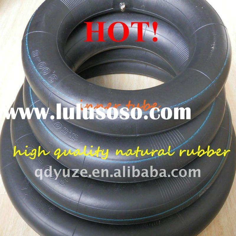 superior quality natural rubber motorcycle inner tube