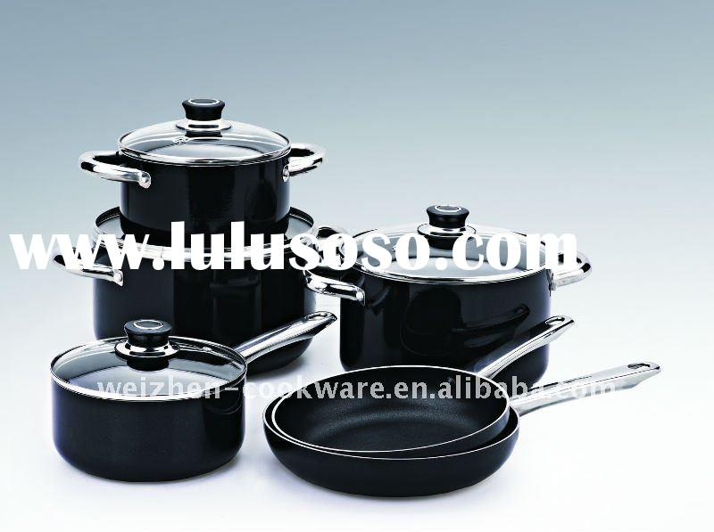 10PCS Aluminum nonstick cookware set