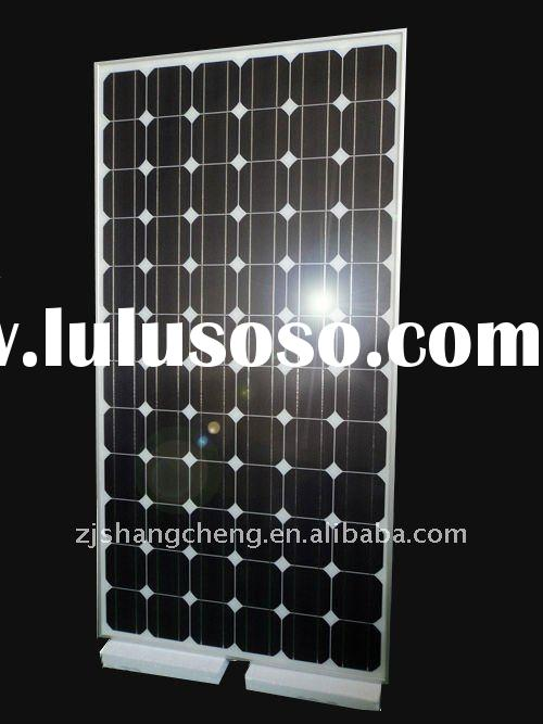 190w rooftop TUV MCS accredited Mono-si solar panels