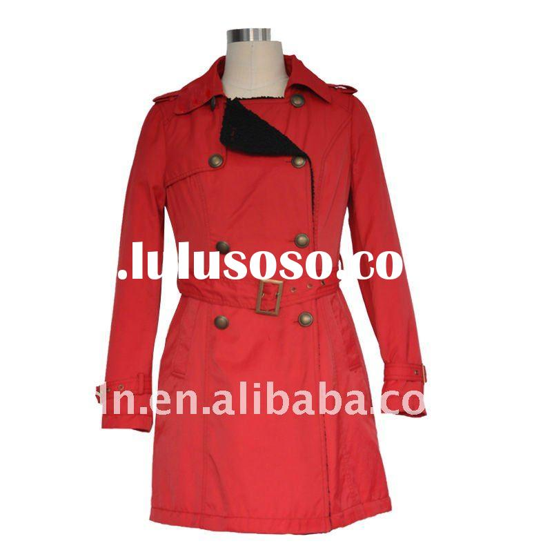 2011 Fashion long style Women's coat