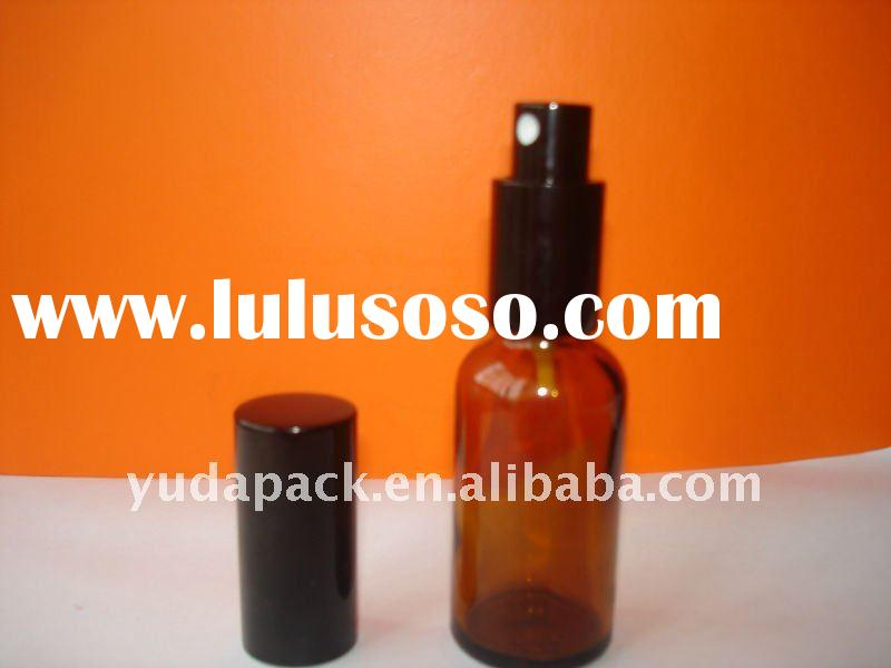 30ml amber essential oil bottle