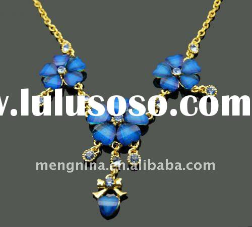 Fashion necklace Flower shaped necklace-N01425