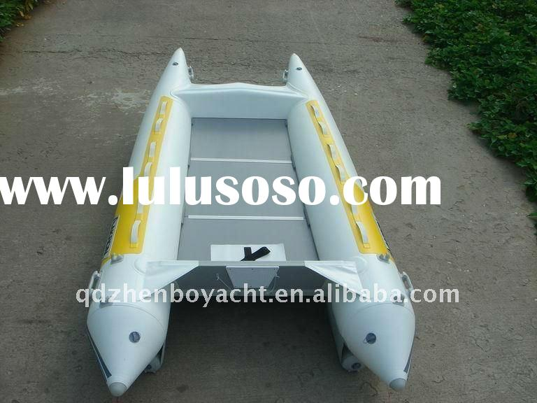 High speed air inflatable boat
