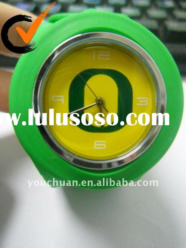 Hot sell OEM Silicone slap watch for Christmas gift