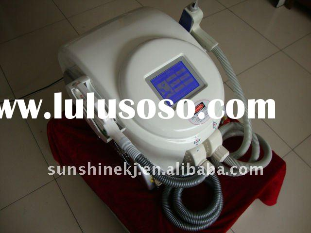 Portable Hair Removal& Tattoo Removal 2 in 1 IPL Laser Machine