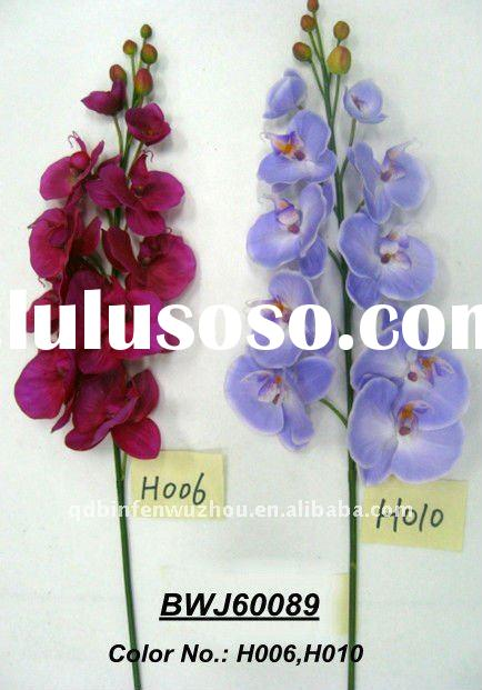 Single Artificial Moth Orchids Stems