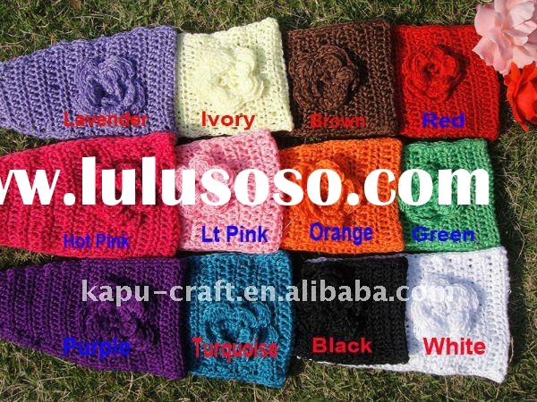 crochet headwrap 12 colors IN STOCK (NO MOQ)