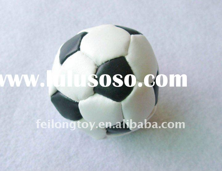 promotional custom football hacky sack
