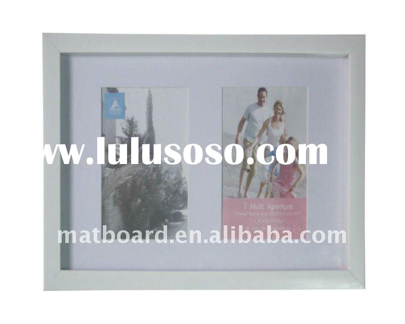 white plastic shadow box frame / ps multi picture frames