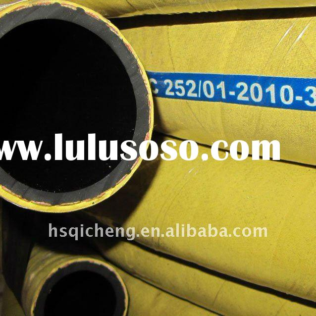 High Pressure Compressor Rubber Air Hose Yellow