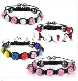 Hot Sale Shamballa Crystal Ball Bracelets in Final Discount