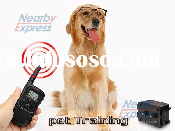 Rechargeable LCD Shock & Vibrate Remote Dog Training Collar