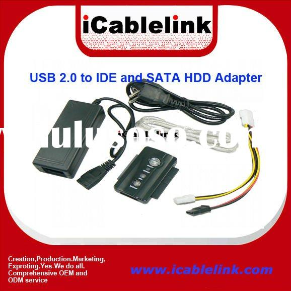 USB 2.0 to IDE SATA Adapter (USB 3.0 Optional)
