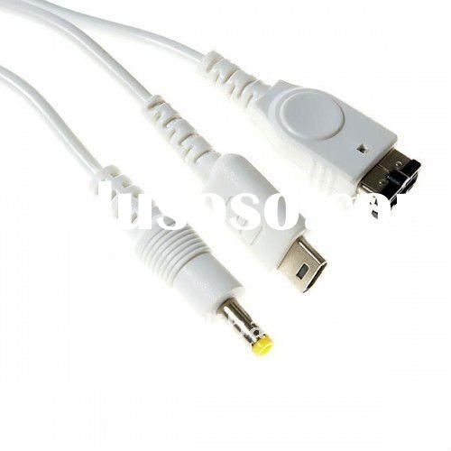Universal 5-in-1 USB Power Data Cable (for iPod/NDS/PSP/GBA)