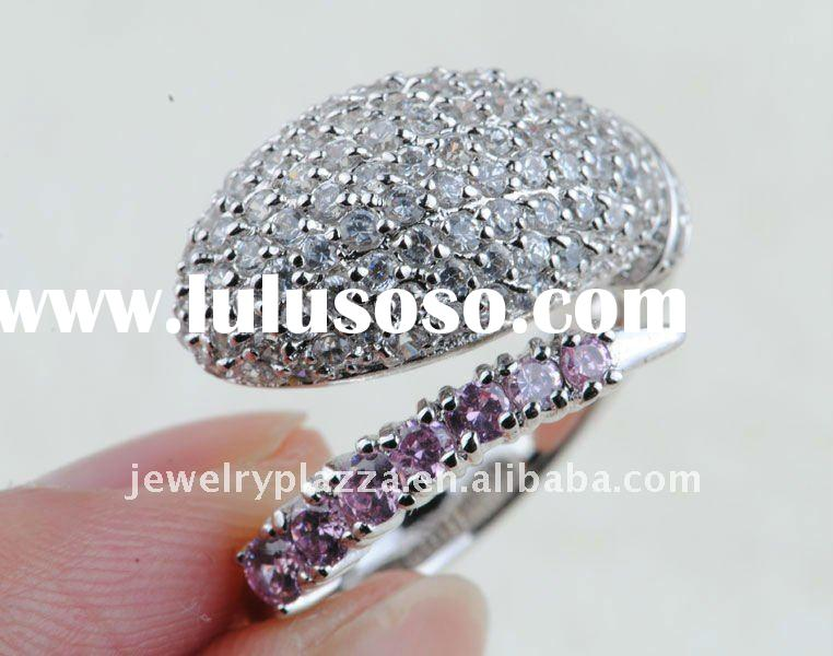latest design diamond ring SR002