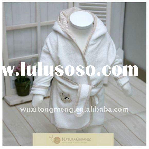 Best-seller 100% Organic Cotton Bathrobe for Babies