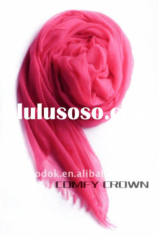 Customized exquisite luxury brand cashmere pashmina scarf