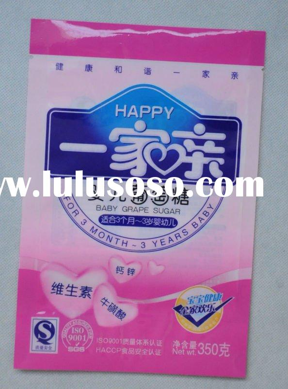 Hot selling food bag for baby glucose