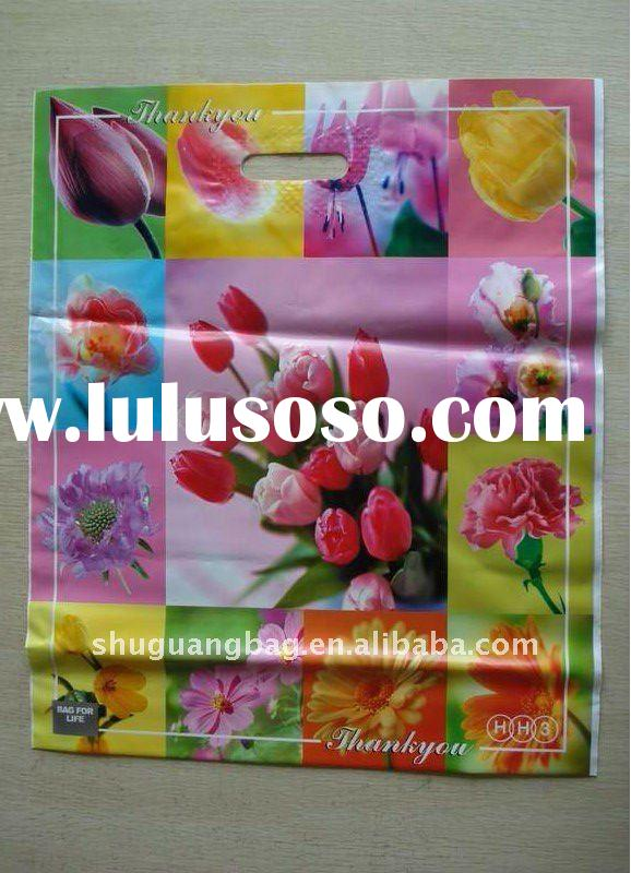 Plastic Shopping Handle Bag