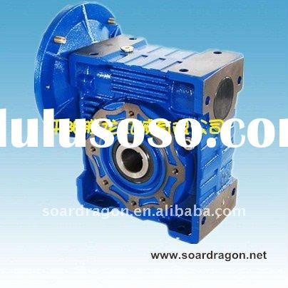 RV series worm gearbox with motor