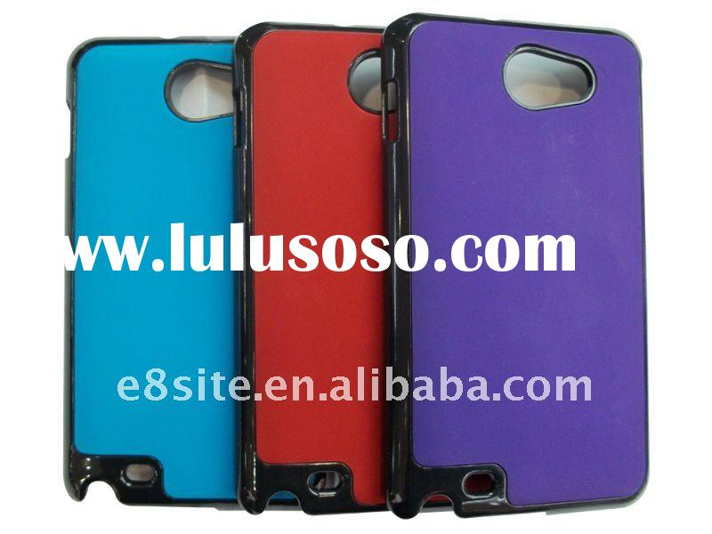 Rubberized Cell Phone Crystal Case For SamSung Galaxy Note i9220