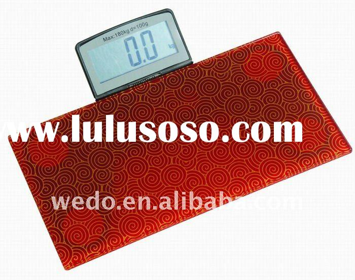 glass digital portable gift body scale