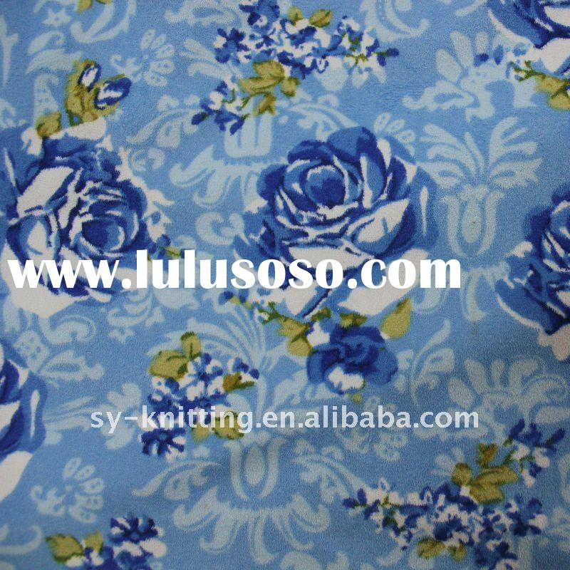 150CM Printed Warp Suede Knitted Fabric for shoe