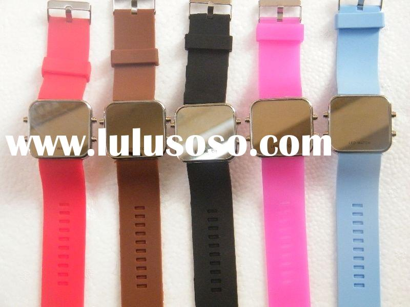 2012 new led watch silicon