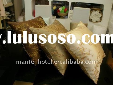 high quality for the hotel cushion,decorating cushion