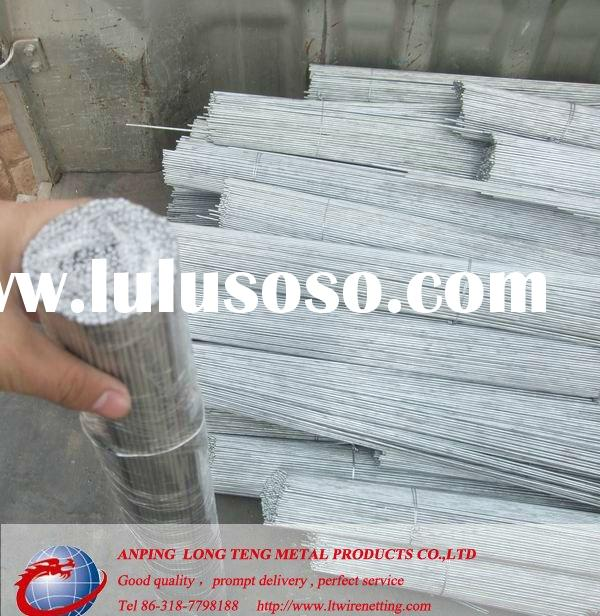 straight galvanized cut wire for binding
