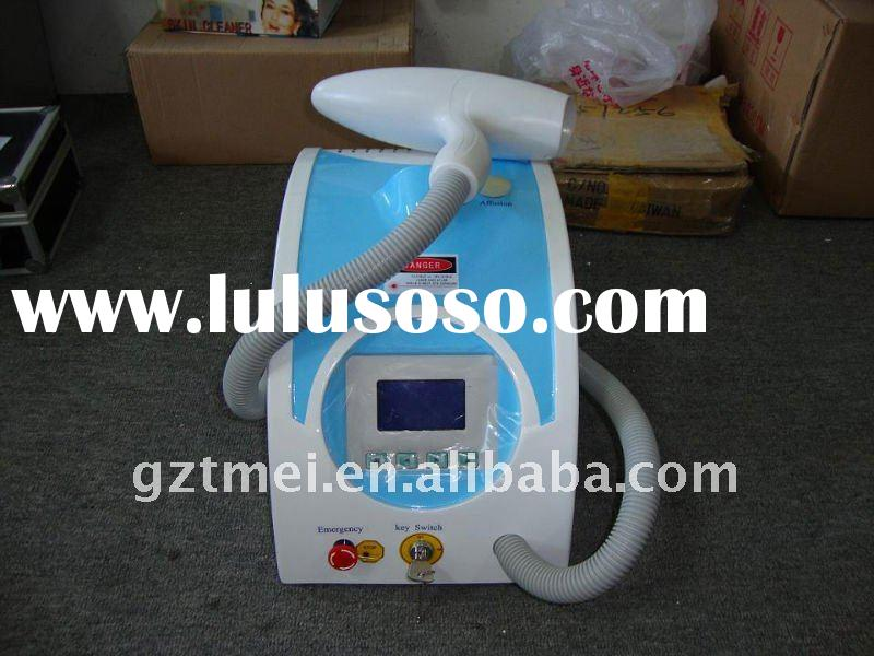 1000mj pulse energy laser machine hair &tattoo removal