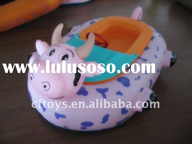 2011 popular inflatable bumper boats with MP3 player