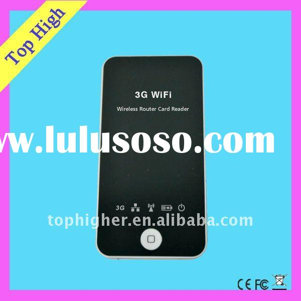 3G WIFI Wireless Router for transfering usb data to iphone ipad