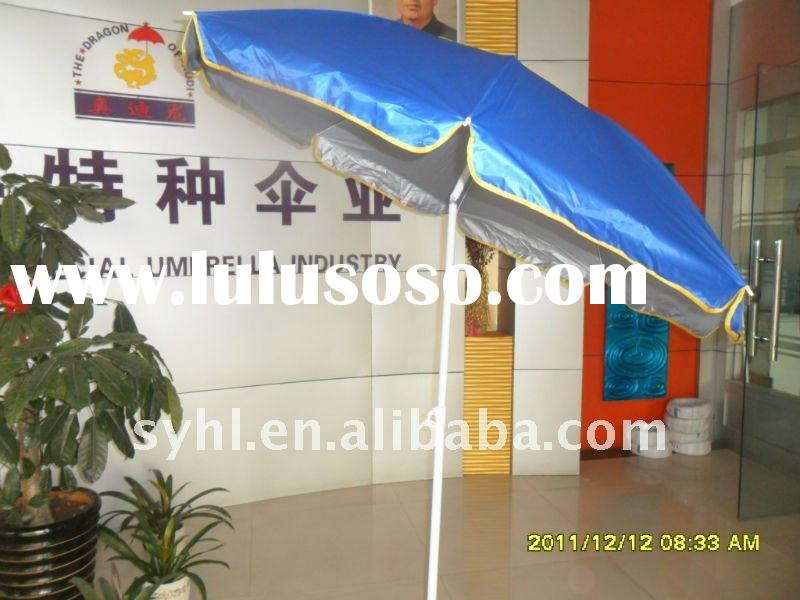 6.5 ft UV Beach Umbrella with Vent opening