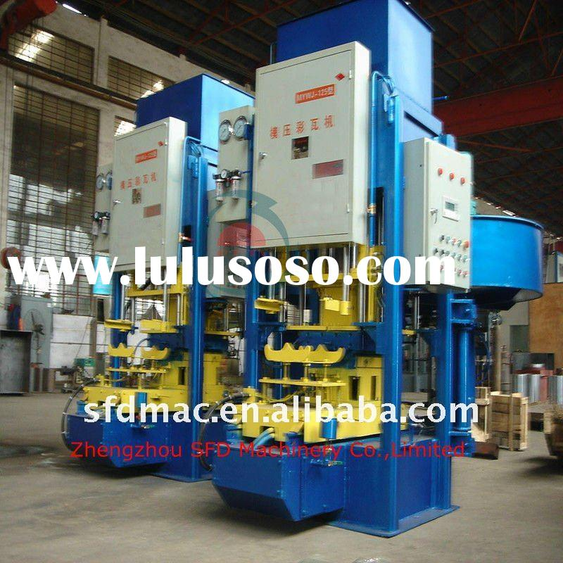 Automatic Concrete Colored Roof Tile Machine