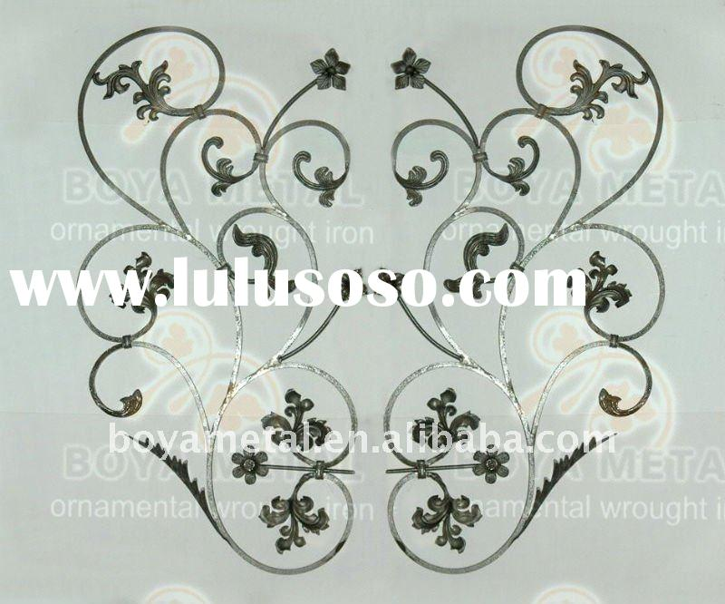 Decorative Forged Iron Fence Part,Wrought Iron Fence part